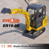 Price poco costoso 1.8ton 0.22cbm Mini Hydraulic Crawler Excavator da vendere