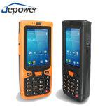 De Elektronische Organisator PDA van Jepower met de Lezer RFID van de Scanner NFC van de Streepjescode