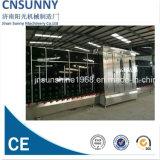 Macchinario di lavaggio di vetro verticale dell'acciaio inossidabile per il grande strato di vetro (senza coperchio)