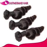 Weave frouxo malaio do cabelo humano das extensões do cabelo da onda