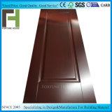 L'intérieur moulé en bois MDF, HDF mélamine la peau de porte