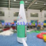 Publicidad gigante botella inflable / impresión en color Publicidad inflable botella