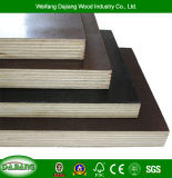 Commercial Plywood with High quality Guarantee and Black/Brown film for Construction