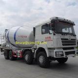 De Concrete Vrachtwagen van het Cement van Shacman F3000 8X4