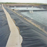 40mil Lagoa Negra geomembrana de HDPE da camisa para aterro