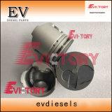 4m40t 6D31T 6D34T 4m40, anillo de pistón camisa del cilindro Kit para las piezas del motor Mitsubishi
