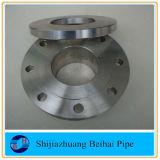 Bride plate 300# de pipe de face de l'acier du carbone ASTM A105