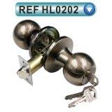 Bloqueo tubular vendedor caliente de la perilla de puerta 587 de Suramérica (HL0201)