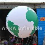 무역 박람회를 위한 팽창식 광고 큰 지구 풍선