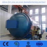 Traitement de l'air automatique horizontal fait sur commande de chauffage corrigeant l'autoclave en caoutchouc de vulcanisation