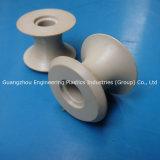 Fabricação ODM e OEM rodas de nylon de alta qualidade fabricadas polias