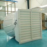 0.55kw IP67 de Acionamento da Correia do Ventilador Axial ventilador montado na parede