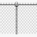 Rete fissa rivestita della rete metallica di obbligazione di collegamento Chain del PVC di alta qualità