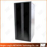 Cabinet réseau avec porte double en verre avant