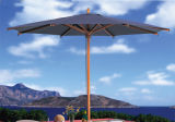 Jardin parapluie, parasol en bois de luxe