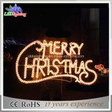 Shopping Mall Joyeux Noël à LED décoratif décoration de la bannière
