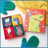 100% algodão Decoração de Natal Natal Sock Factor com alta qualidade