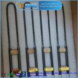Des Fabrik-Großverkauf-1800c Mosi2 Typ des Heizelement-U mit langer Gebrauch-Lebensdauer