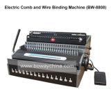 Peigne électrique de bureau et machine à relier de livre de fil (BW-8808)