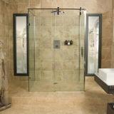 Abgehärtete Sicherheitsglas-schiebende Dusche-Tür-Dusche-Gehäuse mit zwei Seitenkonsolen