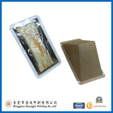 Caixa de embalagem de sanduíche de alimentos personalizados com Wondow (GJ-box998)