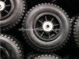"""8 """"空気の膨脹可能なゴム製車輪のプラスチック縁"""