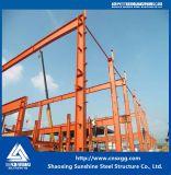 Luz Prefab Estrutura de aço da Estrutura do Workshop com material de construção