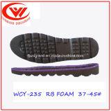 Пена Outsole кожаный ботинок единственная резиновый