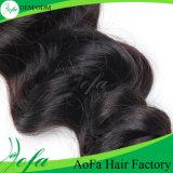 Волосы образца раздатчика человеческих волос выдвижения волос Remy человека 100%