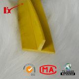 Do indicador de borracha do PVC da forma de T tira de borracha do selo de porta