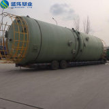 FRP GRPの1000m3の縦の貯蔵タンク