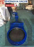 Hydraudicのアクチュエーターを搭載するスラリーのナイフのゲート弁