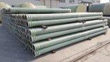 Epoxidharz-Polyester-Wasserbehandlung-Rohr des Fiberglas-FRP GRP zusammengesetztes