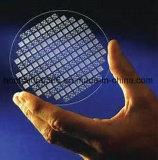 Hoogst Nauwkeurig Structurerend het Wafeltje van het Glas Pyrex