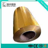 Bobine d'aluminium à revêtement de couleur pour le plafond, décoration, gouttière, Home appliance