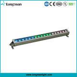 DMX im Freien 18*10W LED RGBW lineares Wäsche-Licht