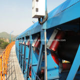 Tubular-Belt Type Conveyor / Pipe Conveyor Conveying Coal