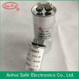 Начните Capacitor Round Shape Cbb65 Air Compressor Capacitor 40UF 450V