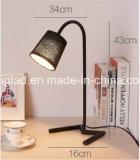 리넨 직물 굴뚝을%s 가진 북쪽 유럽 간단한 작풍 고품질 E27 나사 LED 램프