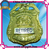 Bespoke insignia de policía de metal para insignia militar