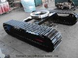 8t material rodante com esteira de aço com Rolamento giratório para Escavadoras