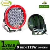 9pulgadas 111W Offroad CREE LED de luz de trabajo automático de la luz de conducción
