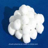 100%年の綿の白い医学の吸収性の綿球