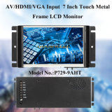 HDMI는 7 인치 열린 구조 LCD 모니터를 입력했다