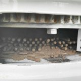이동할 수 있는 유형 생물 자원 연료 나무 펠릿 기계