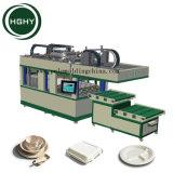 Hghy pulpa de papel desechables moldes de papel de la bandeja de alimentos de la placa de la máquina