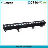 Rondella lineare esterna della parete di illuminazione di RGBW 80W LED per il ponticello/la costruzione