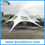 Outdoor Single Top Customs Printing Publicité Canopy Star Shape Tent