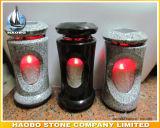 Lampe d'éclairage LED de vente en gros de lanterne de cimetière de granit