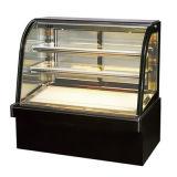 Стенд этаже две полки плюс базовой кривой и дисплей холодильник для выпечки, Deli, молочные и мясо